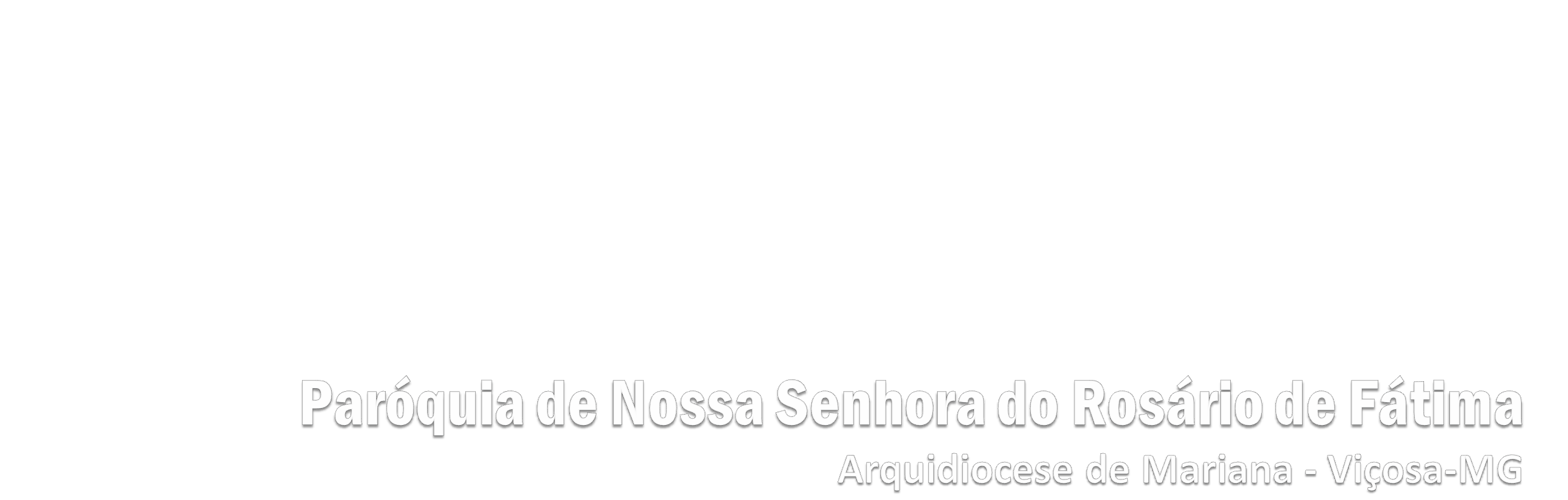 Paróquia Nossa Senhora do Rosário de Fátima | Arquidiocese de Mariana - Viçosa - MG Logo