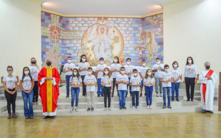 Primeira Eucaristia: Comunidade de Fátima